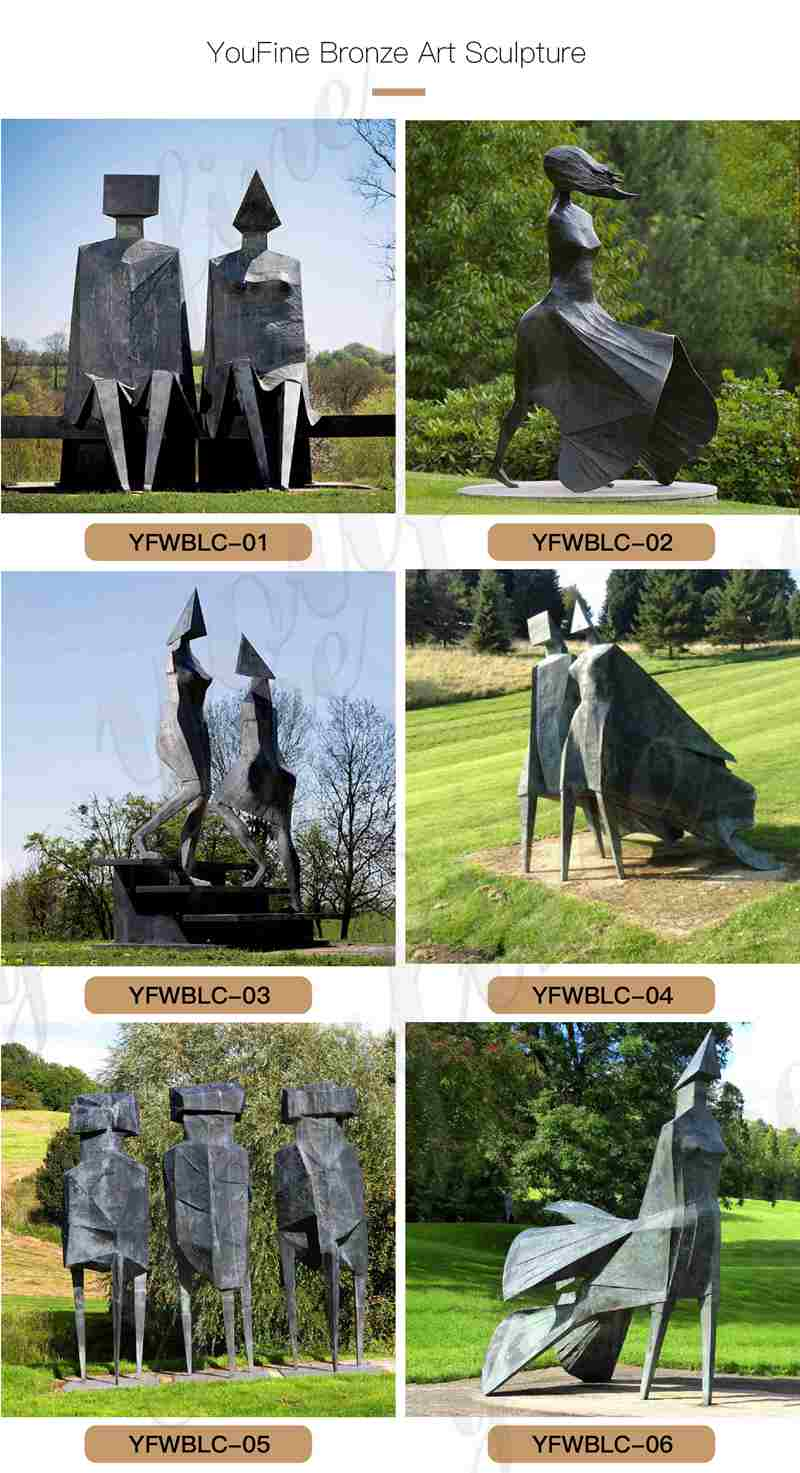 Bronze Figure Statue LynnChadwick Replica for Sale BOKK-970