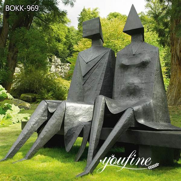 Bronze Geometric Figures Statue Replica for Sale BOKK-969 (2)