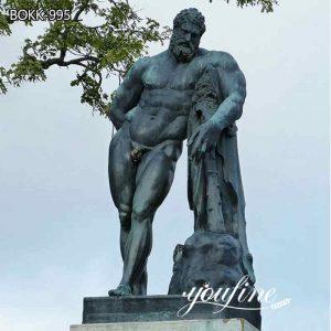 Classic Large Bronze Farnese Hercules Statue Garden Decor for Sale BOKK-995