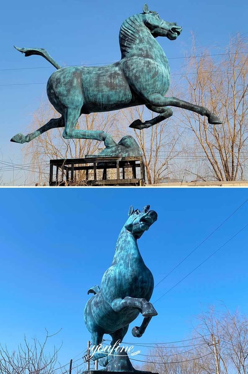 large Bronze Horse Statue