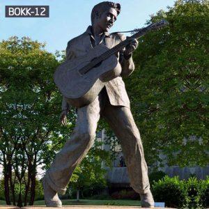 Life-Size Bronze Elvis Presley Statue Outdoor for Sale BOKK-12