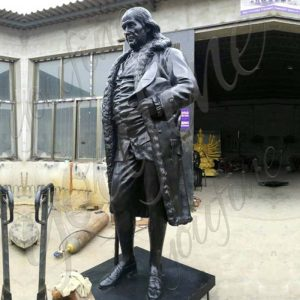 Famous Figure Bronze Benjamin Franklin Statue  for Sale BOKK-509