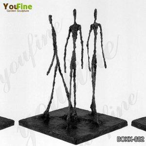 Bronze Giacometti Sculpture Home Garden Decor Factory Supply BOKK-882