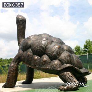 Giant Bronze Tortoise Statue Sea Garden Decor for Sale BOKK-387