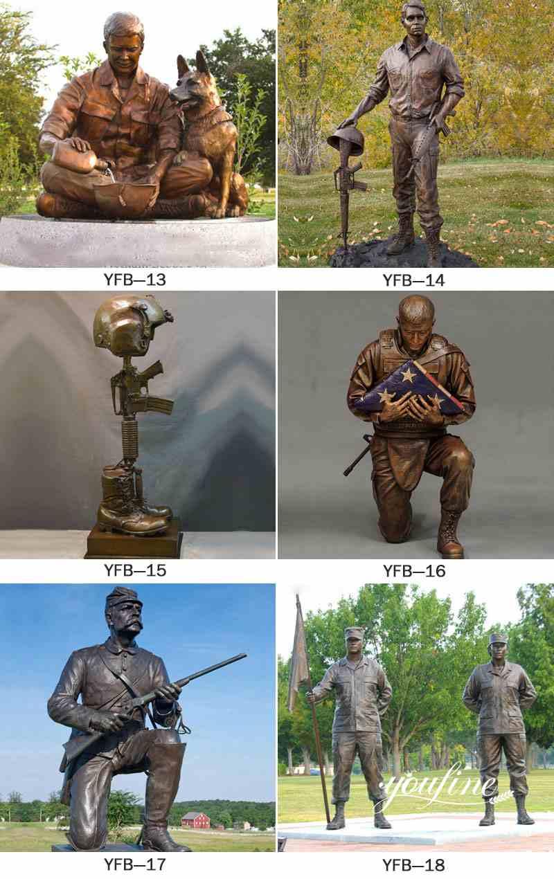 garden soldier statue