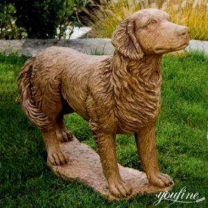 Bronze Golden Retriever Statue Home Decor for Sale BOKK-545